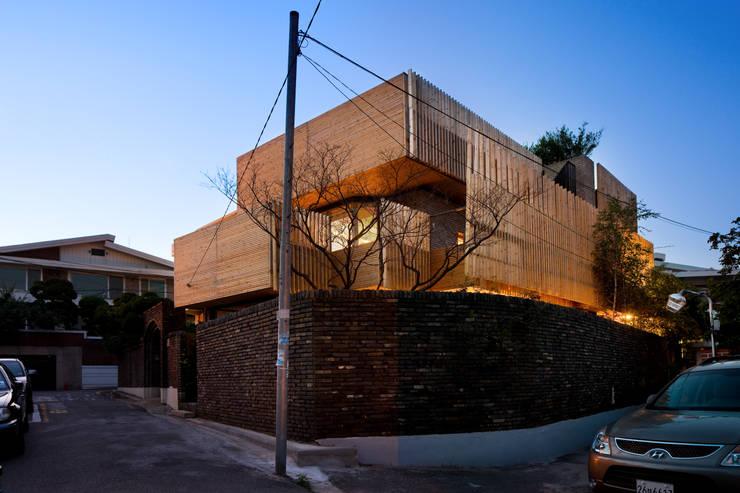 Projekty,  Domy zaprojektowane przez 무회건축연구소