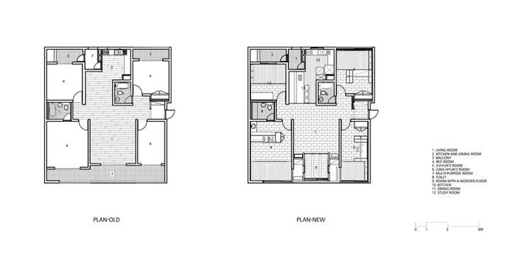 정현이네 아파트 집수리(Jung-hyun's Apartment Jip-soori): 무회건축연구소의