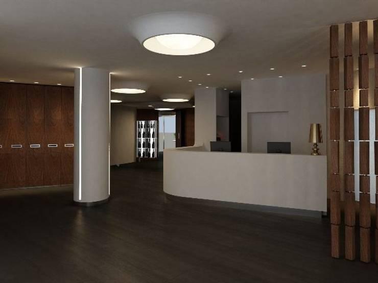 Callistos Hotel (4 stelle):  in stile  di HOPILAB senior architect,