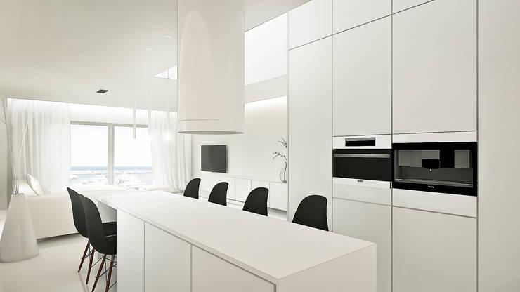 Cocina: Cocinas de estilo minimalista de KA Arquitectos