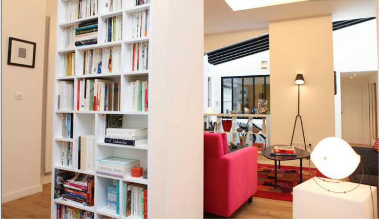 Loft sur cour:  de style  par Catherine Plumet Interiors