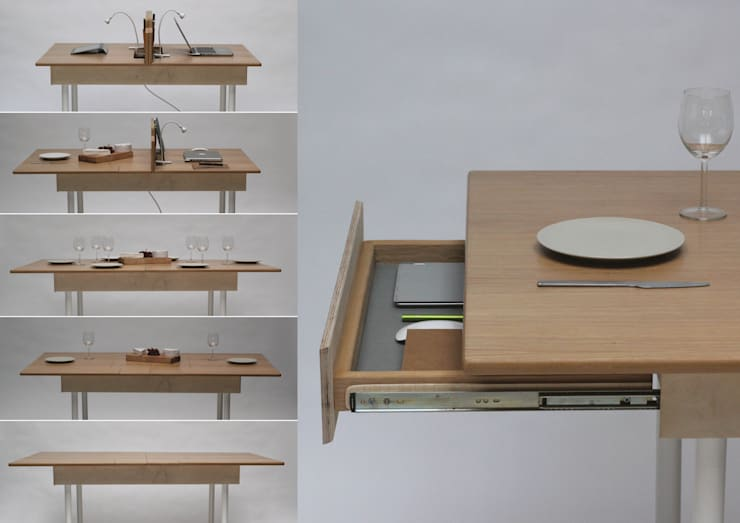 Cocina de estilo  por Daniel Liss Design
