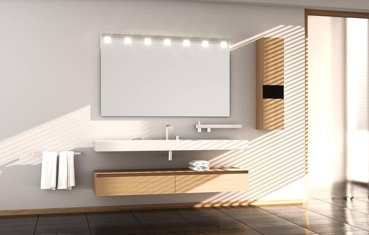 Salle de bain de style  par Schreiber Licht-Design-GmbH