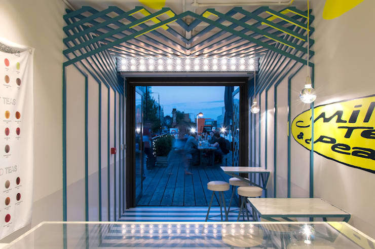 Milk Tea & Pearl Boxpark:  Commercial Spaces by atelier Y A O