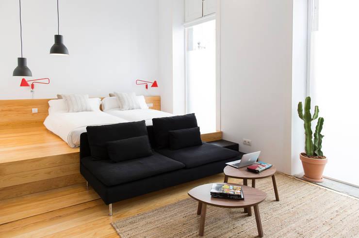 The Loft:  de estilo  de Alonso + Sosa arquitectos