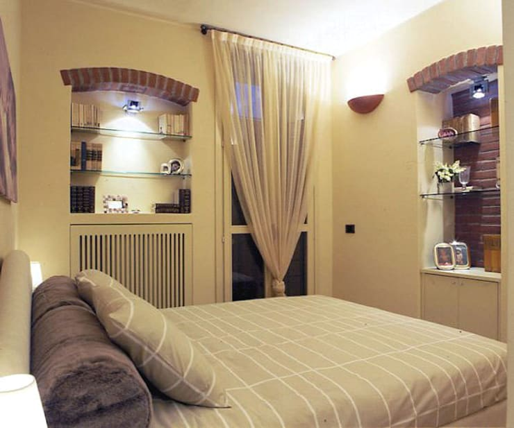 Mini Appartamento 36mq: Case in stile  di Studio Architettura e Design Giovanna Azzarello