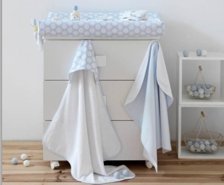 Bañera Ter Azul: Habitaciones infantiles de estilo  de DINDONBEBE