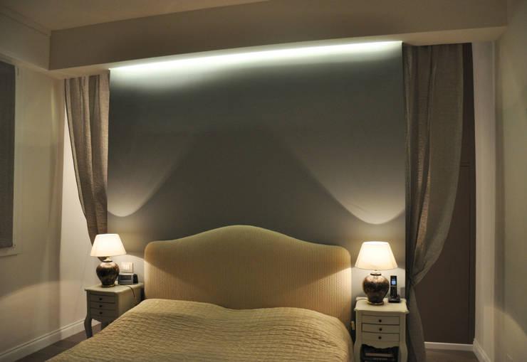 Casa S & G_interior design: Case in stile  di Bcubo Architetti