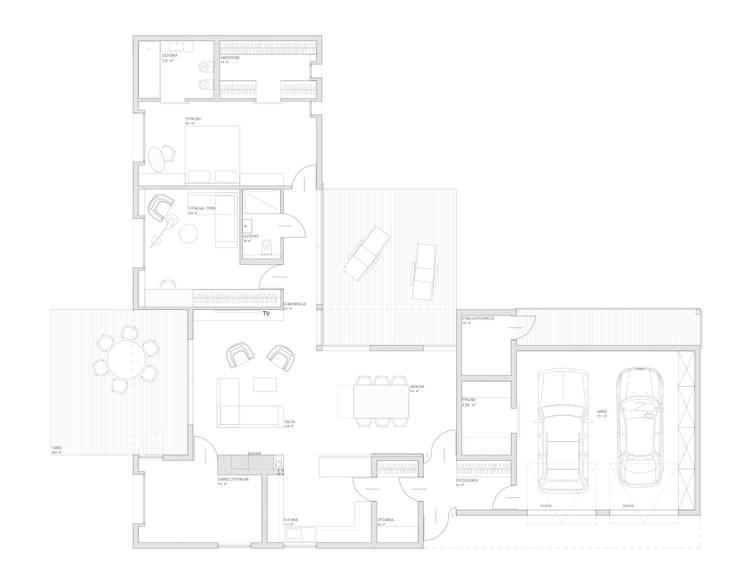 Dom jednorodzinny - Zbrosławice : styl , w kategorii Domy zaprojektowany przez grupa KMK sp. z o.o,