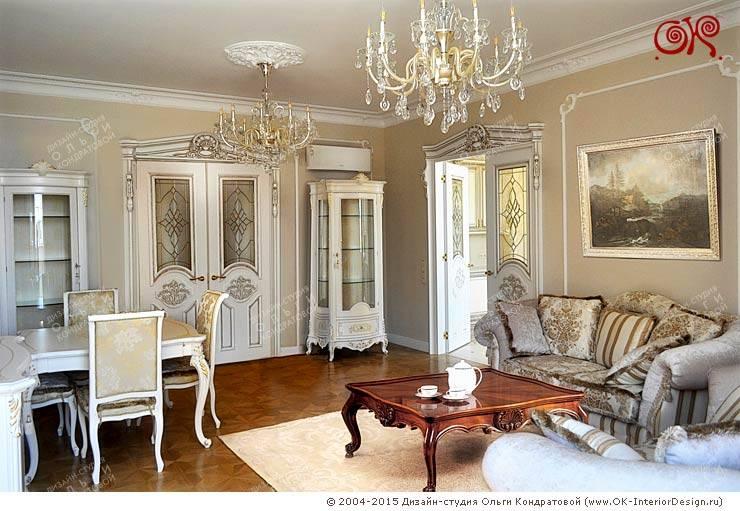 classic Living room by Дизайн студия Ольги Кондратовой
