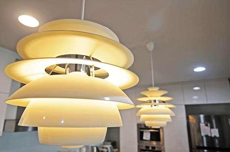 KITCHEN COUNTER LIGHTING:   by JIA Studios LLP