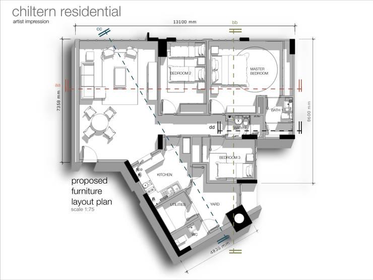 Chiltern Singapore:   by Vontey Design Consultant