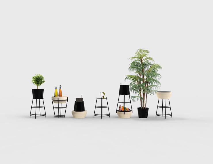 FUZO: Salon de style de style Moderne par Bertrand Besnard Design