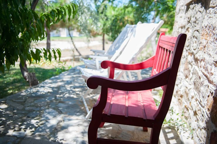 ARAL TATİLÇİFTLİĞİ – Genel Görünüm: kırsal tarz tarz Bahçe