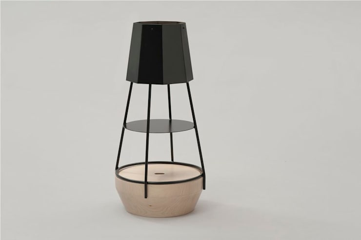 FUZO - Bertrand Besnard: Salon de style  par Bertrand Besnard Design