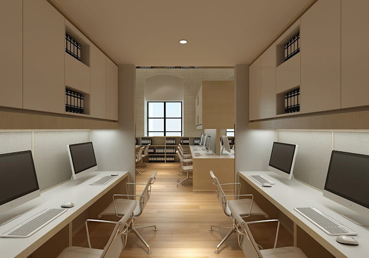 Being Human Office:  Commercial Spaces by  Ashleys