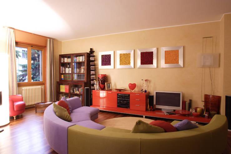 Soggiorno:  in stile  di Studio L'AB Landcsape Architecture & Building, Moderno