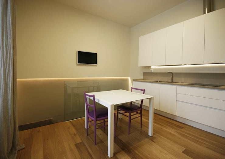 Casa in centro storico: Cucina in stile  di Luca Mancini | Architetto, Moderno