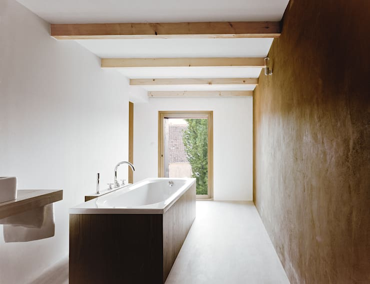 Casas de banho  por JAN RÖSLER ARCHITEKTEN