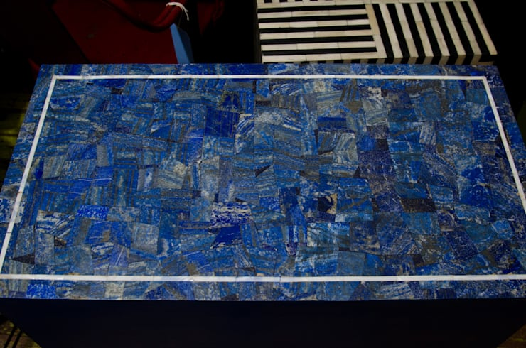 Lapis Lazuli Chest-Drawer:  Dressing room by Stonesmiths - Redefining Stone-Age