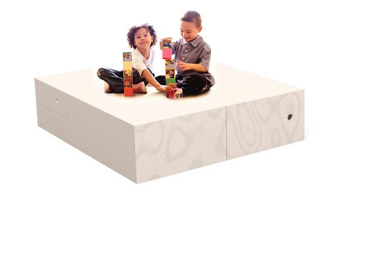 doppio piano di lavoro e gioco: Stanza dei bambini in stile  di Loop Landscape & Architecture Design