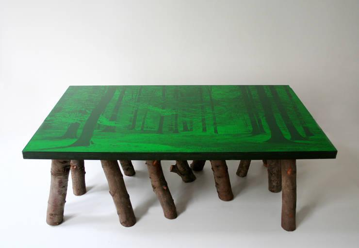 Wood Table: Art de style  par Pascalina