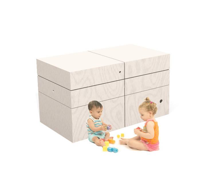 contenitore per la cameretta: Stanza dei bambini in stile  di Loop Landscape & Architecture Design