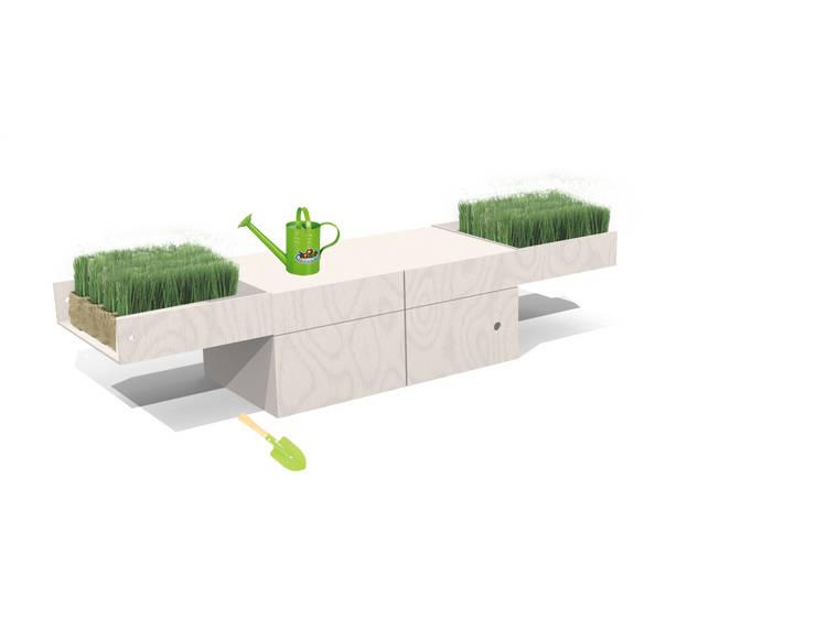 piccolo giardinaggio: Stanza dei bambini in stile  di Loop Landscape & Architecture Design
