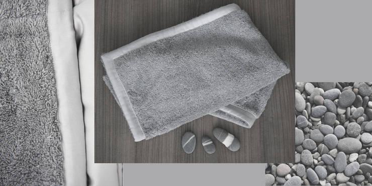 cotton sponge by Poemo Design: Paesaggio d'interni in stile  di POEMO DESIGN