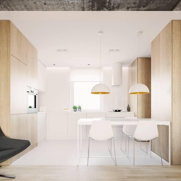 Cozinhas minimalistas por 081 architekci