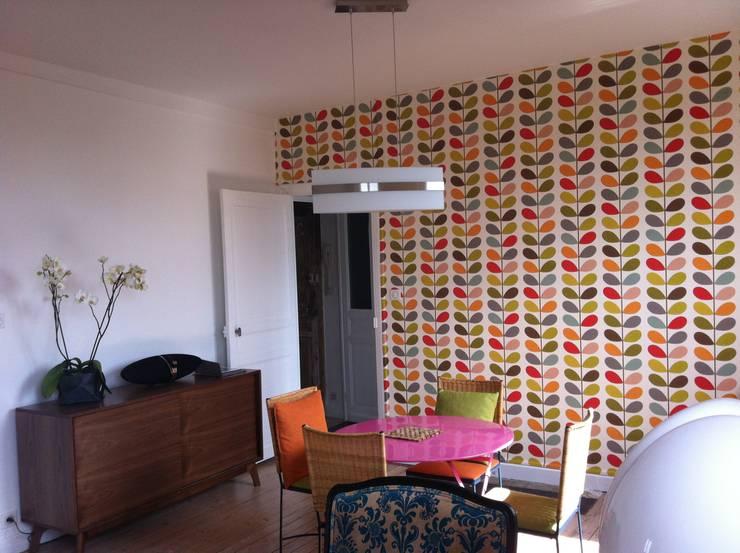 Salon, salle à manger:  de style  par Éloïse Déco