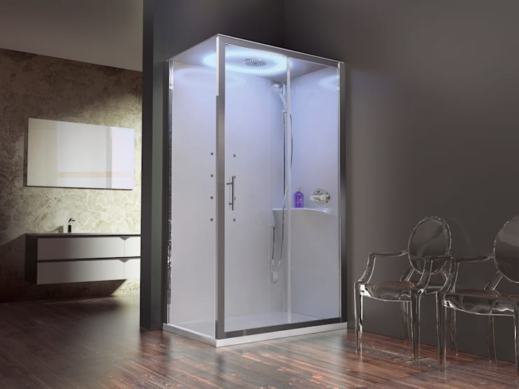 Eon: moderne Badkamer door Novellini