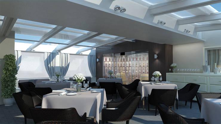 HOTEL EDEN – ROMA: Hotel in stile  di Studio Giangrande