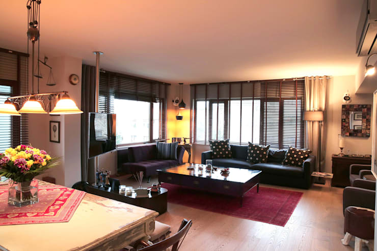 Derun Architecture & Interior Design:  tarz Oturma Odası