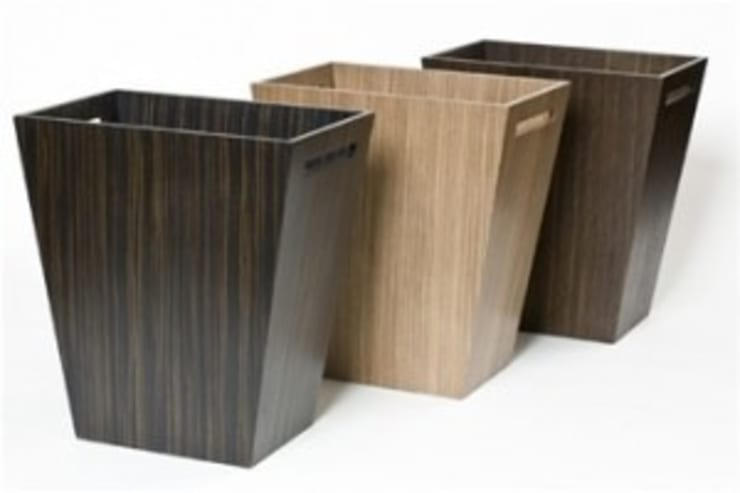 WOODEN  WASTE BIN:  Household by Wooden Gift Company
