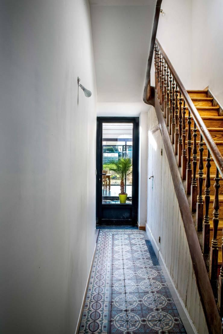 Bol d'air : Terrasse de style  par OBLIK ARCHITECTES