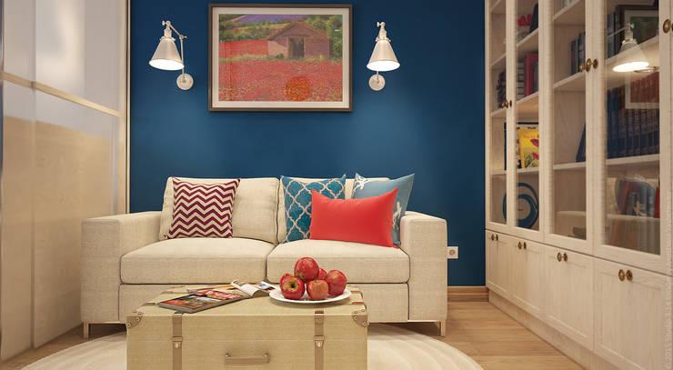Living room by «Студия 3.14»