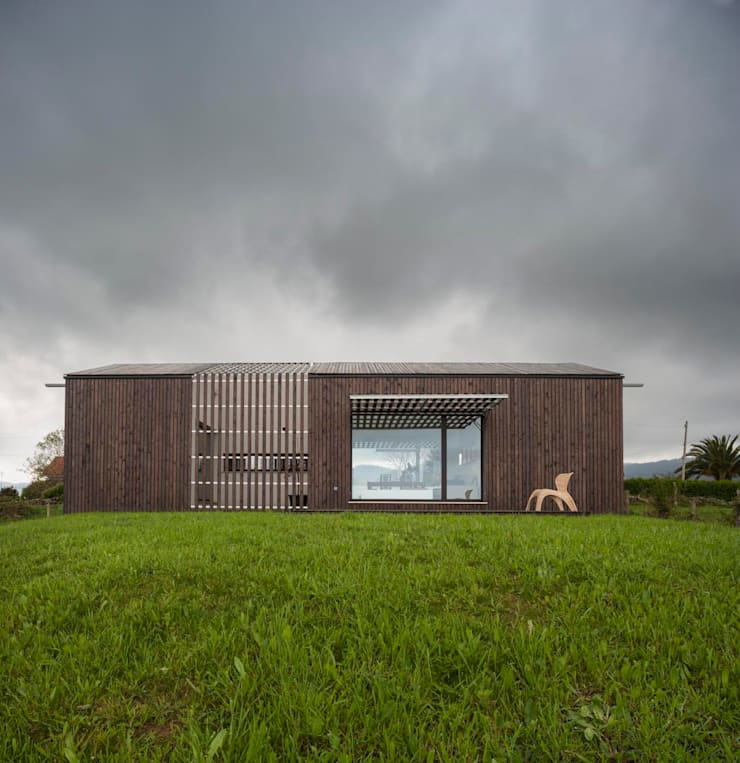 Casa Bioclimática JG: Casas de estilo  de Modulo12