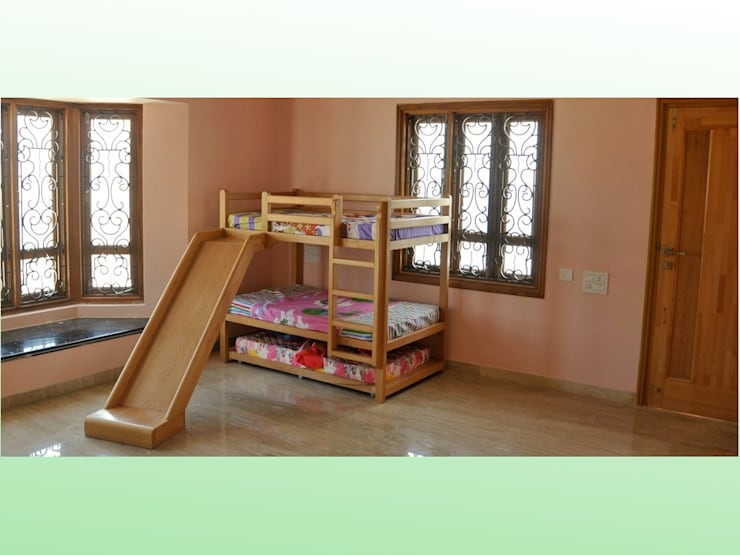 Residential Bungalow in Bhuj:   by Design Kkarma (India)