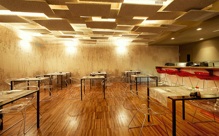 Mei - soulful sushi:  in stile  di Studio Tecnico Magenis Professionisti Associati