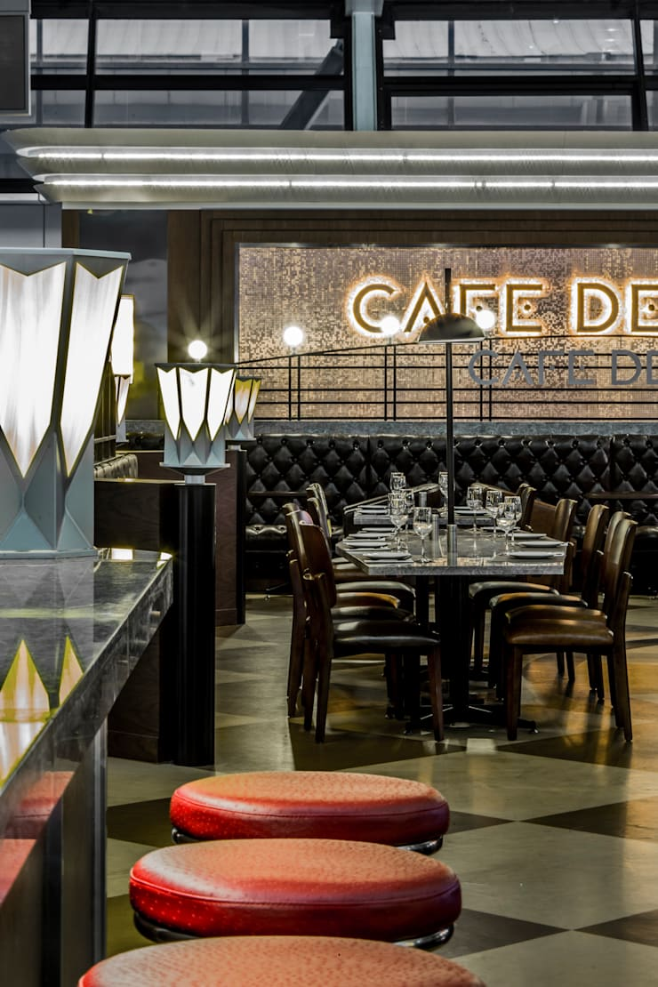 Cafe Deco Shanghai :   by 4N architects
