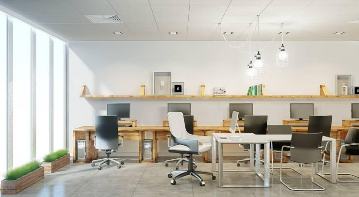 Estudios y despachos de estilo minimalista de De Steil