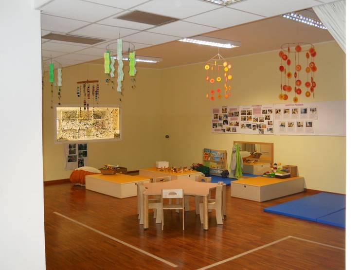 Aula didattica di Studio L'AB Landcsape Architecture & Building Moderno