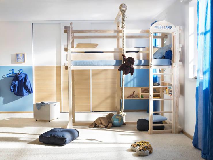 Детская комната в . Автор – WOODLAND Vertriebs GmbH