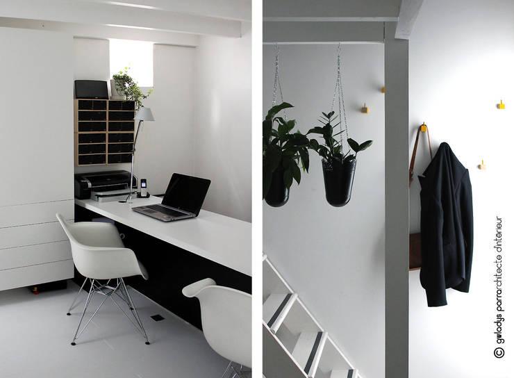 Oficinas de estilo  por Gwladys PARRA, Moderno