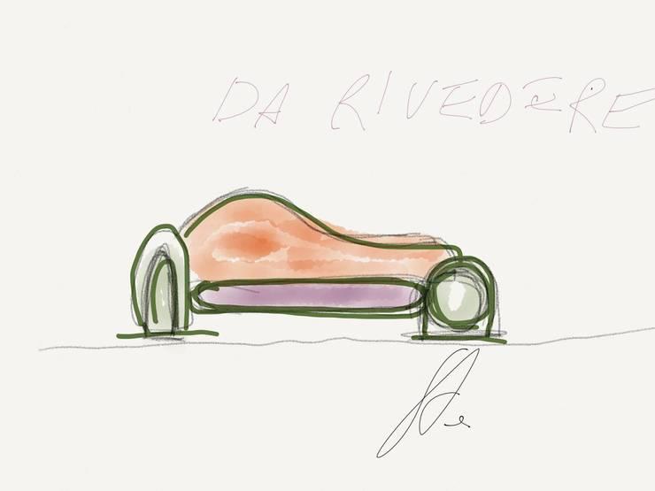 divano DXSX:  in stile  di Studio L'AB Landcsape Architecture & Building,