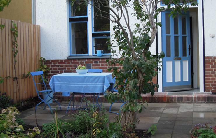 Terrasse:  Häuser von Katrin Lesser,Ausgefallen