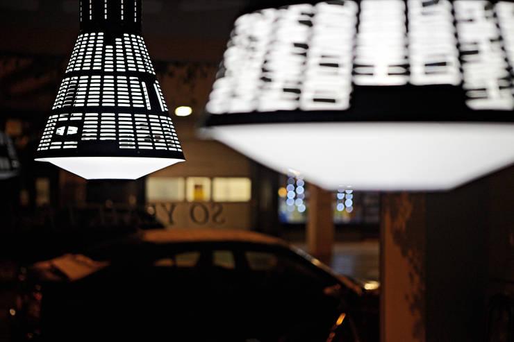 Mercury Leuchte:  Esszimmer von Gregor  Faubel Produktdesign