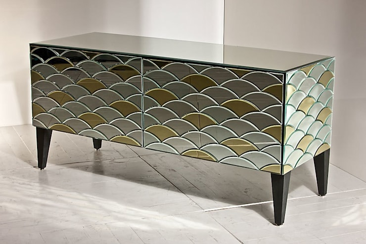 modern Dining room by Ámbar Muebles