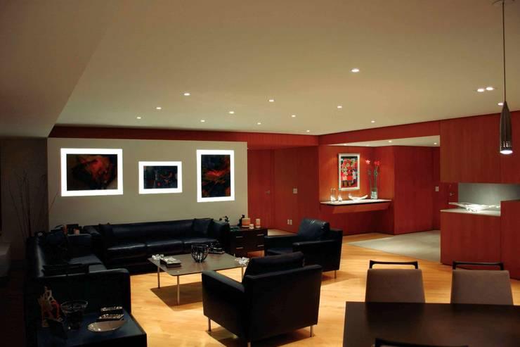 Departamento M/R: Hogar de estilo  por Arditti+RDT Arquitectos